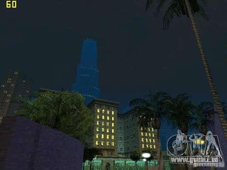GTA SA IV Los Santos Re-Textured Ciy pour GTA San Andreas douzième écran