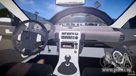 Infiniti G35 v1.0 für GTA 4 Rückansicht