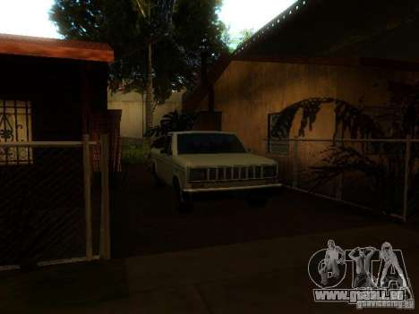 New Car in Grove Street für GTA San Andreas fünften Screenshot
