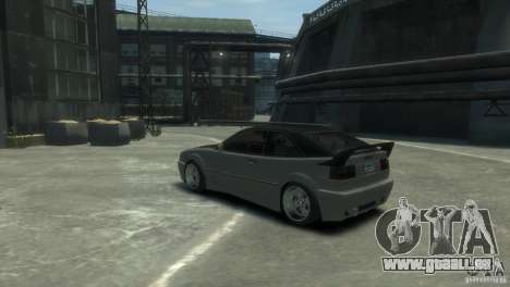 Volkswagen Corrado pour GTA 4 est un droit