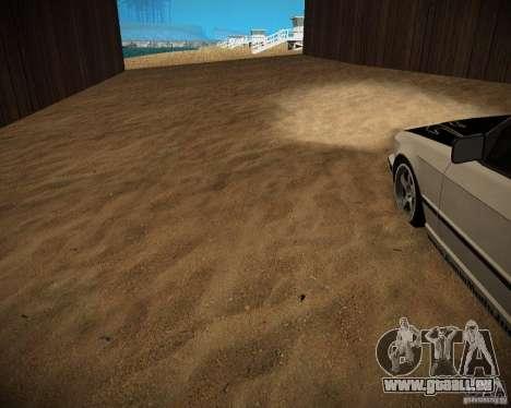 New textures beach of Santa Maria pour GTA San Andreas neuvième écran