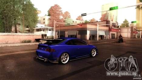 Acura RSX Spoon Sports pour GTA San Andreas vue arrière