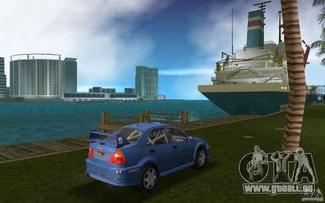 Mitsubishi Lancer Evo VI für GTA Vice City rechten Ansicht