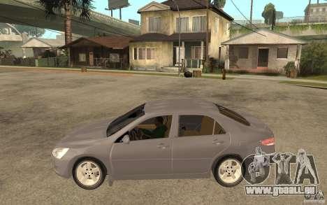 Honda Accord 2004 v2 pour GTA San Andreas laissé vue