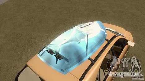 Lexus RX350 für GTA San Andreas obere Ansicht