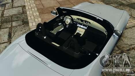 BMW Z8 2000 pour GTA 4 vue de dessus