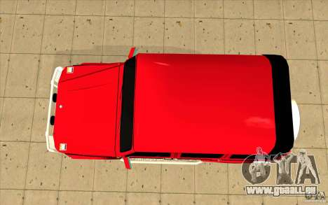 Mercedes-Benz G500 Brabus pour GTA San Andreas vue de droite