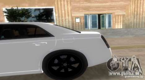 Chrysler 300C SRT V10 TT Black Revel 2011 für GTA Vice City linke Ansicht