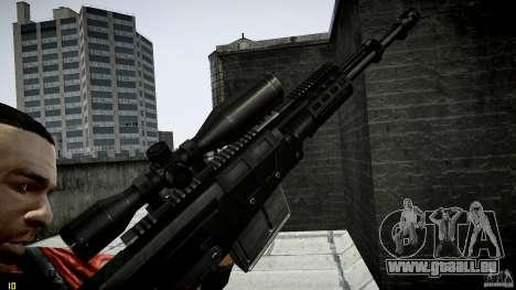 Accuracy International AS50 für GTA 4 weiter Screenshot