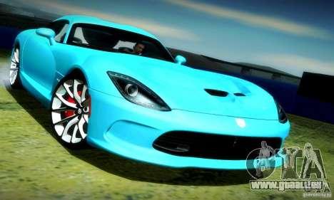 Dodge Viper SRT  GTS für GTA San Andreas
