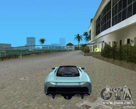 Jaguar XJ220 pour une vue GTA Vice City de la droite