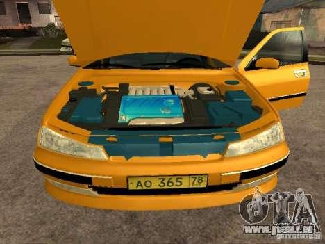 Peugeot 406 Taxi pour GTA San Andreas vue de droite