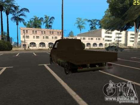 Moonbeam Pickup pour GTA San Andreas laissé vue