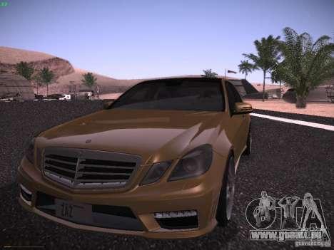 Mercedes-Benz E63 AMG für GTA San Andreas linke Ansicht