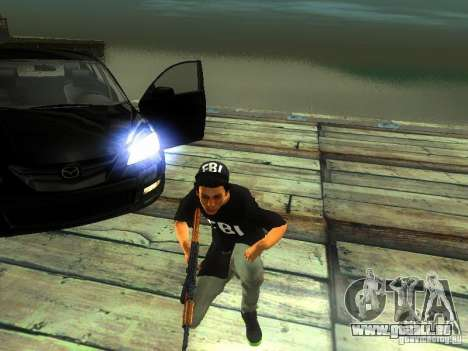 Garçon au FBI pour GTA San Andreas deuxième écran