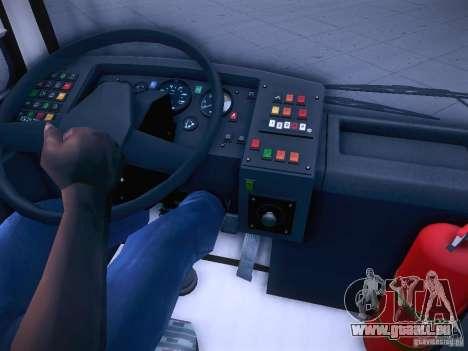 Ikarus 415 für GTA San Andreas obere Ansicht