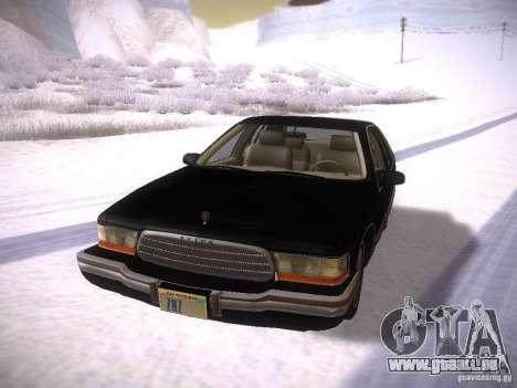 Buick Roadmaster 1996 pour GTA San Andreas laissé vue