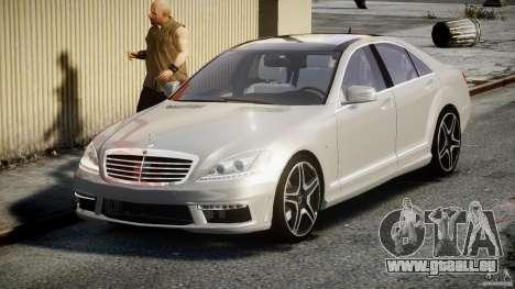 Mercedes-Benz S63 AMG [Final] pour GTA 4