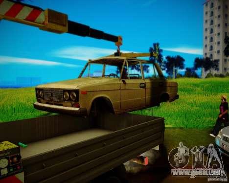 Gazelle 33023 Manipulator für GTA San Andreas zurück linke Ansicht