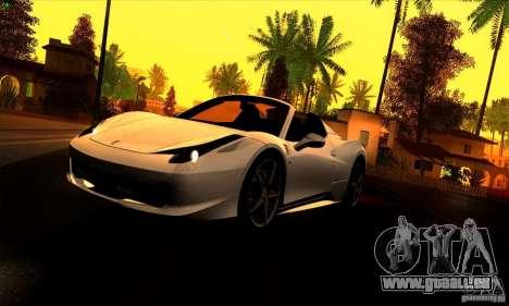 SA_gline 4.0 pour GTA San Andreas troisième écran