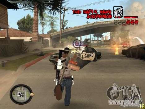 Hud by Dam1k pour GTA San Andreas cinquième écran