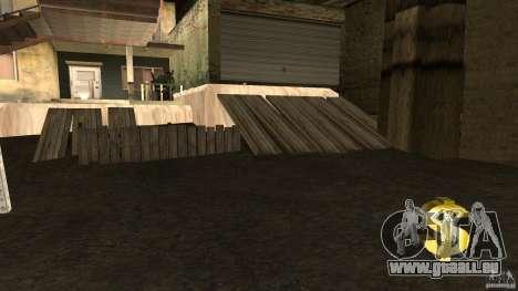 Achat de base propre pour GTA San Andreas troisième écran