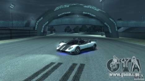 Pagani Zonda Cinque 2009 pour GTA 4 est une vue de l'intérieur