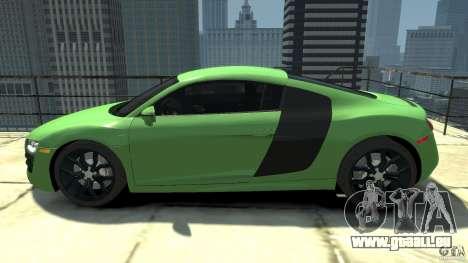 Audi R8 5.2 FSI quattro v1 pour GTA 4 est une gauche