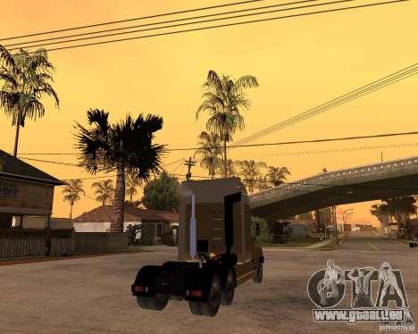 SuperZiL v. 2.0 pour GTA San Andreas sur la vue arrière gauche