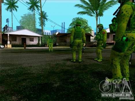 Camouflage forêt Morpeh pour GTA San Andreas sixième écran