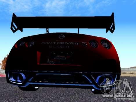 Nissan Skyline R35 Drift Tune für GTA San Andreas rechten Ansicht