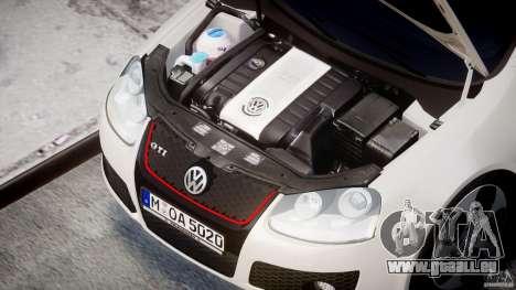 Volkswagen Golf GTI 2006 v1.0 für GTA 4 Rückansicht