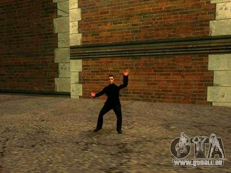Vusi d'entraînement pour GTA San Andreas deuxième écran