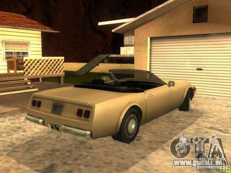 Feltzer de GTA Vice City pour GTA San Andreas vue de droite