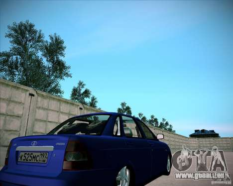 Lada Priora Chelsea pour GTA San Andreas vue de droite