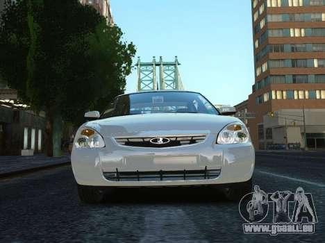 VAZ Lada 2170 Priora für GTA 4 hinten links Ansicht