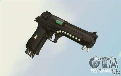 Low Chrome Weapon Pack pour GTA San Andreas sixième écran
