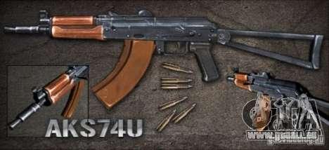 [Point Blank] AKS74U pour GTA San Andreas