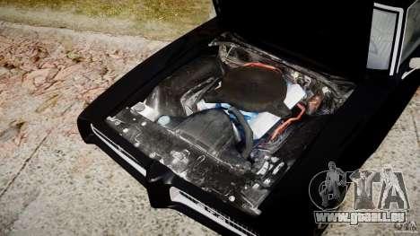 Pontiac GTO Judge pour GTA 4 est une vue de l'intérieur