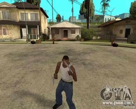 Wolverine mod v1 (Scooby-Doo) für GTA San Andreas dritten Screenshot