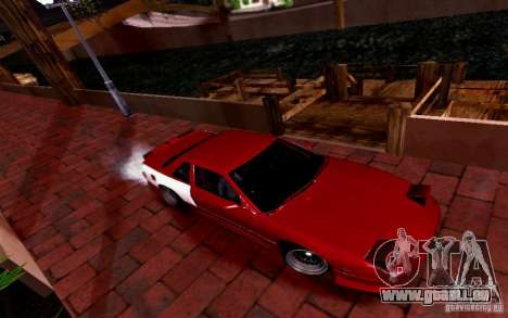 Nissan S13 Onevia für GTA San Andreas zurück linke Ansicht