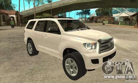 Toyota Sequoia pour GTA San Andreas