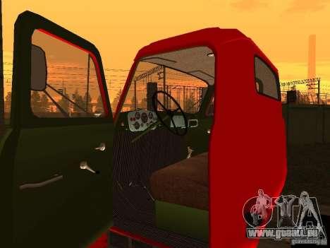 GAZ 53 LKW für GTA San Andreas Rückansicht