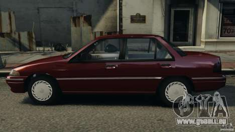 Mercury Tracer 1993 v1.1 für GTA 4 linke Ansicht