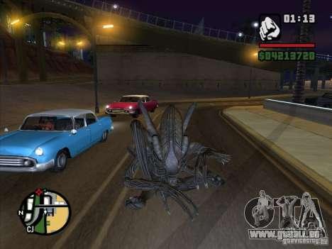Alien Xenomorph pour GTA San Andreas deuxième écran
