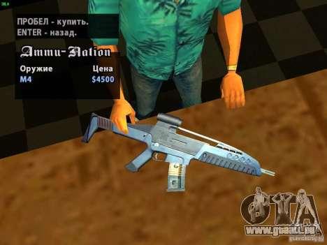 XM8 V1.1 pour GTA San Andreas cinquième écran