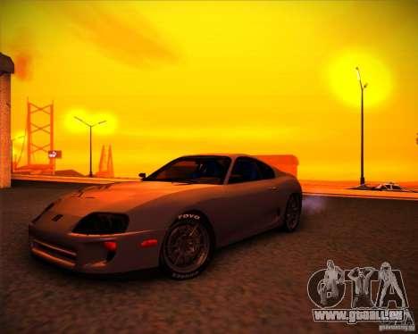 Toyota Supra SHE für GTA San Andreas