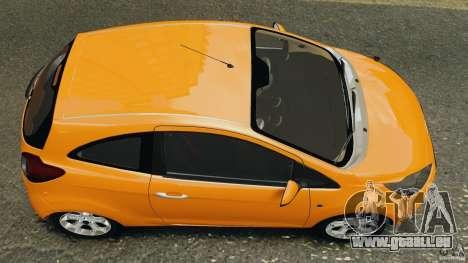 Ford Ka 2011 pour GTA 4 est un droit