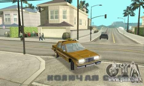 Dodge Diplomat 1985 Taxi pour GTA San Andreas