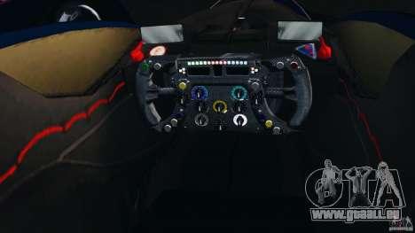 Red Bull X2010 pour GTA 4 Vue arrière